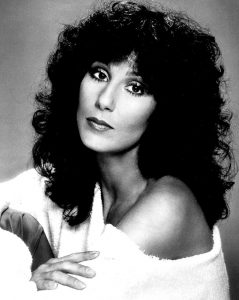 Famous dyscalculic: singer Cher.